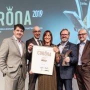 Corona Auszeichnung für starlim-sterner