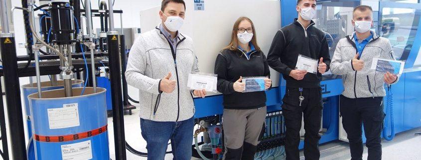 Produktion-der-Maskenbaender-sterner-training-center