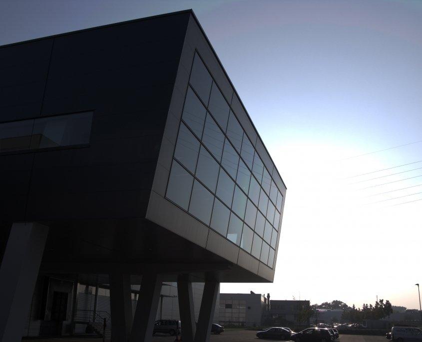 starlim-building sunset blue